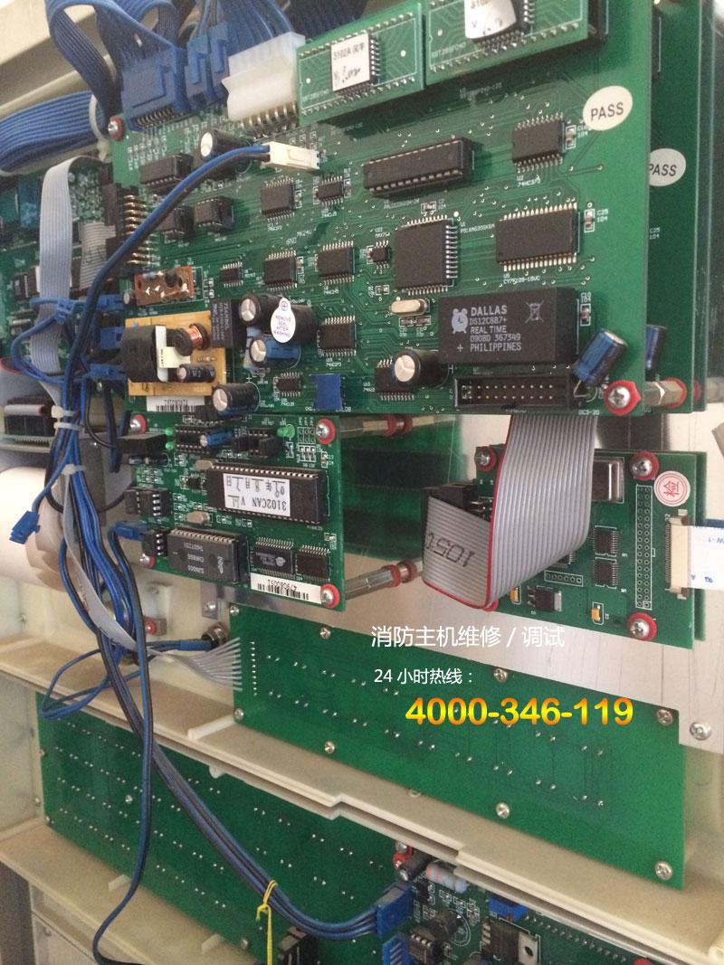 5  电源指示灯不亮同时主机报主备电故障,可以把电源信号连接线